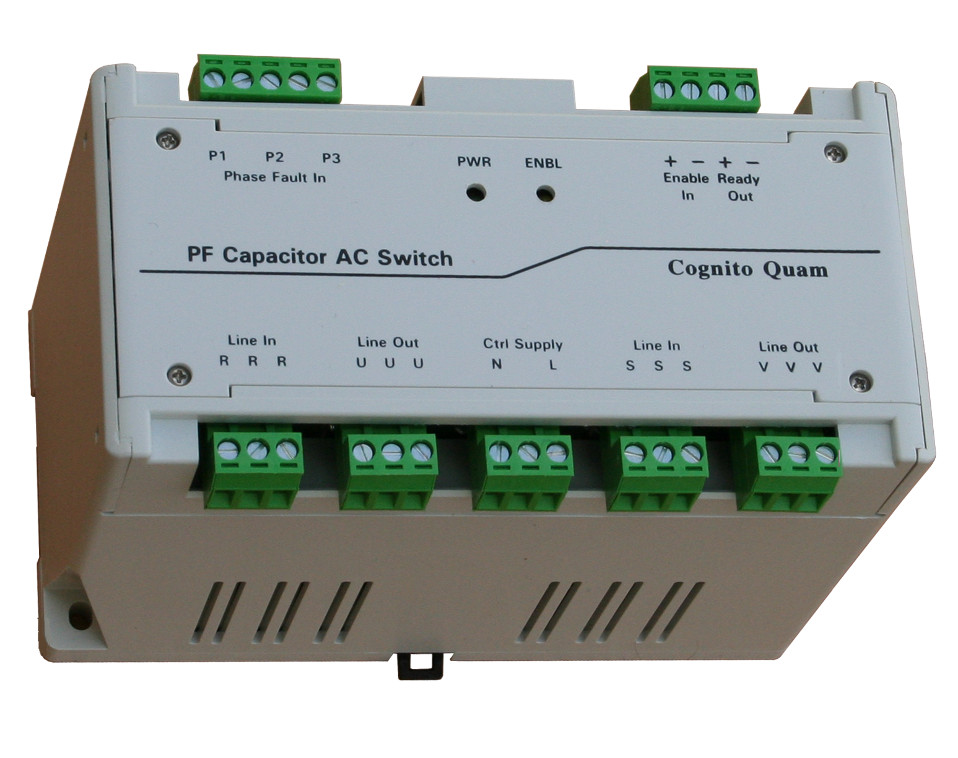 PF capacitor AC switch