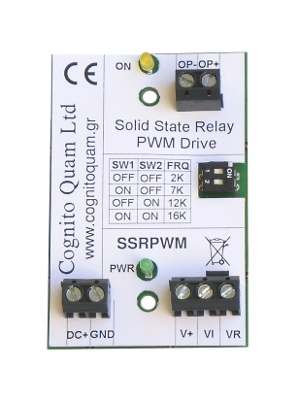 SSR PWM solid state relay drive